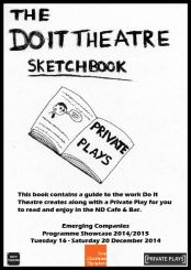 The Do It Theatre Sketchbook_PrivatePlays_Cover