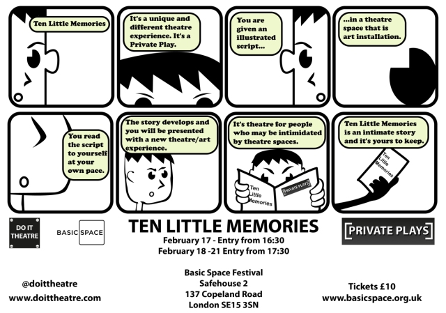Ten Little Memories - Information Comic